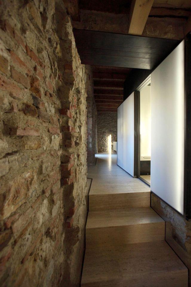 Die besten 25+ Steinwand wohnzimmer Ideen auf Pinterest - wohnzimmer mit steinwand