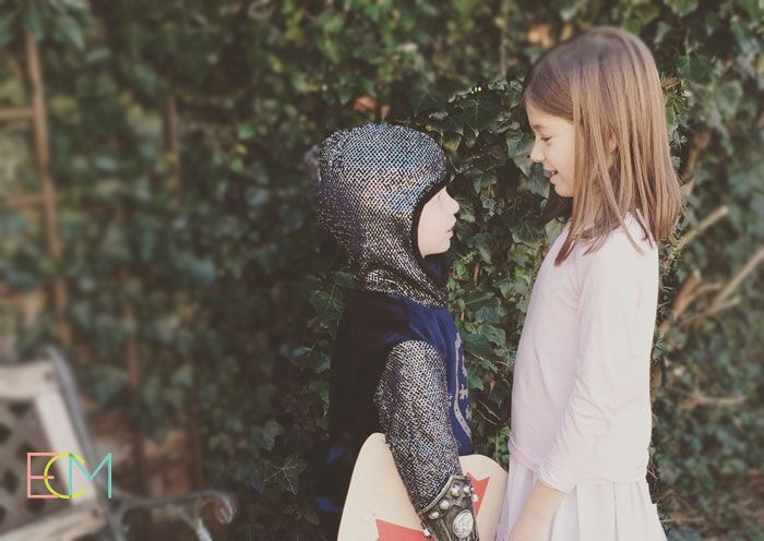 disfraces niños, fiesta de disfraces, disfraz de princesa, disfraz de caballero medieval niño. web de maternidad y creatividad