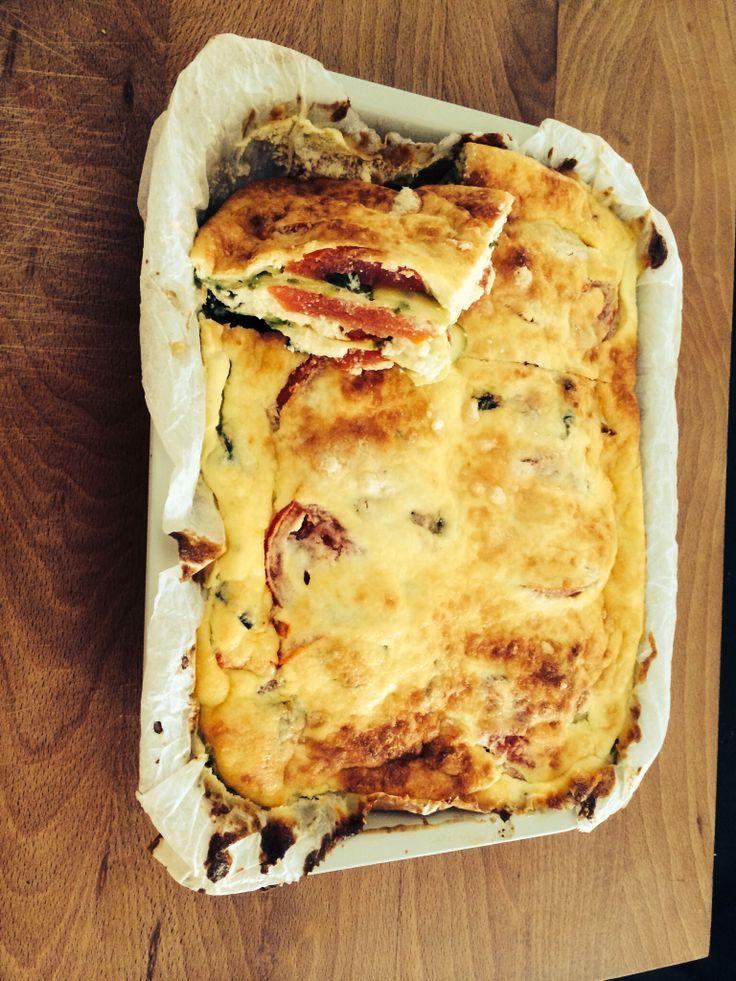 Zucchini's parmigiana