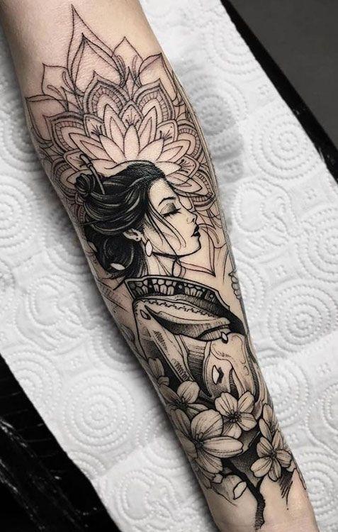Arm Tattoos für Frauen: Über 50 unglaubliche Inspirationen für Tätowierungen #Tattoos