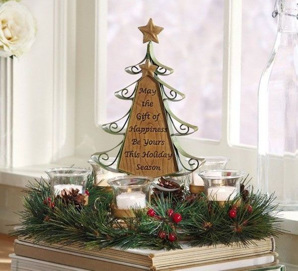 swedish Christmas Tree Decorating Ideas | decorate a mini christmas tree when you put up the big tree snip off a ...