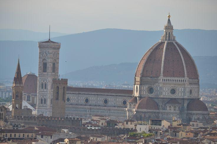 il duomo di Firenze da piazzale Michelangiolo