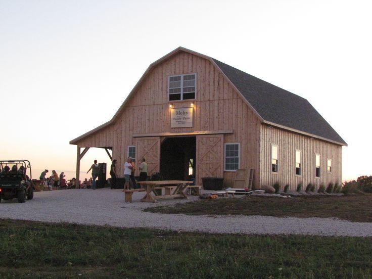 Gambrel Barn                                                                                                                                                                                 More