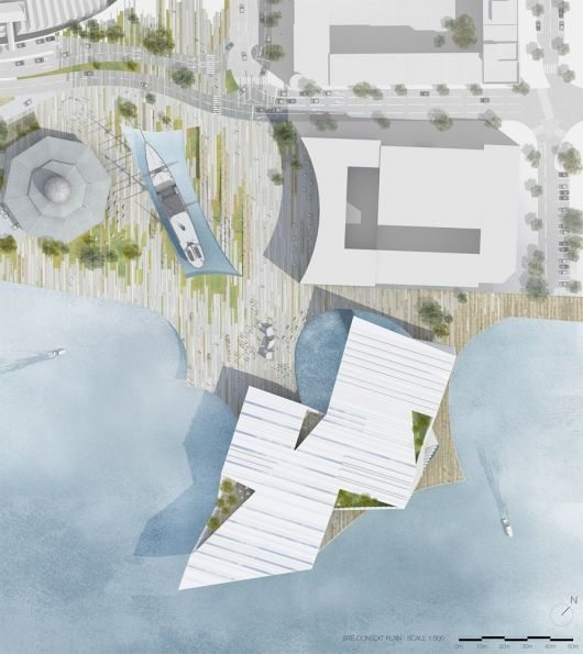 Bustler: Kengo Kuma Wins V&A at Dundee Competition
