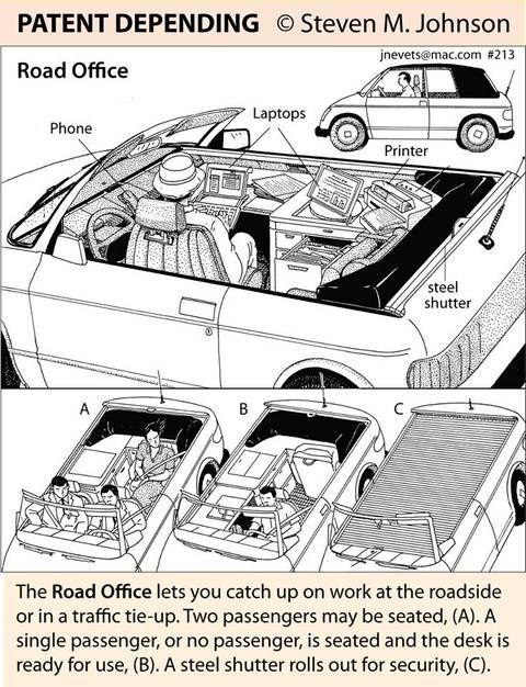 Your office is in your car : TreeHugger