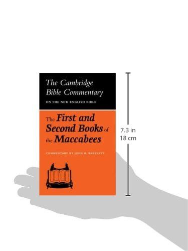 The First and Second Books of the Maccabees (Cambridge Bible Commentaries on the Apocrypha)