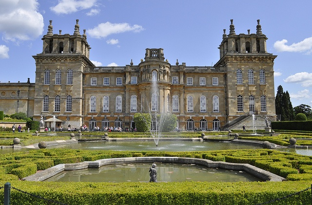 Blenheim Palace Is A Monumental Stately Home Situated In