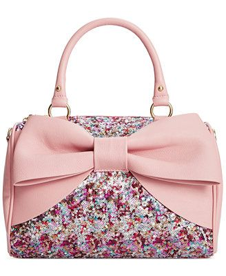 @lexibrazelton, was this the one you pointed out at Macy's by the Benefit counter? Betsey Johnson Macy's Exclusive Satchel