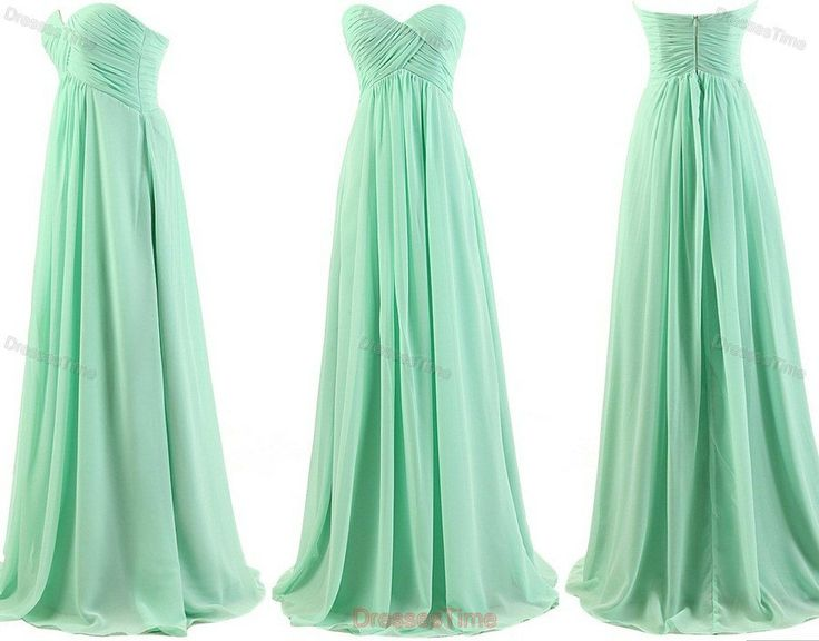 Good in lots of colors and elegant to fit the variety of body styles so all of your bridesmaids will feel beautiful :)