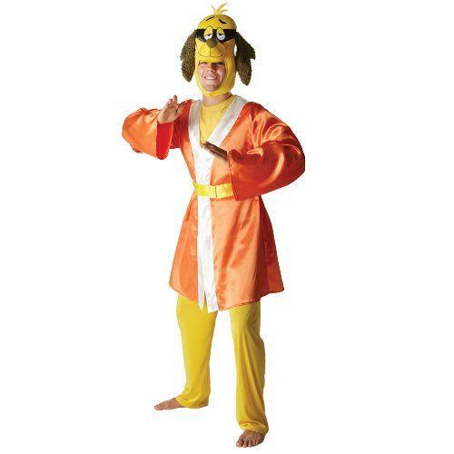 hong kong phooey mens adult fancy dress party halloween costume hanna barbera click image twice