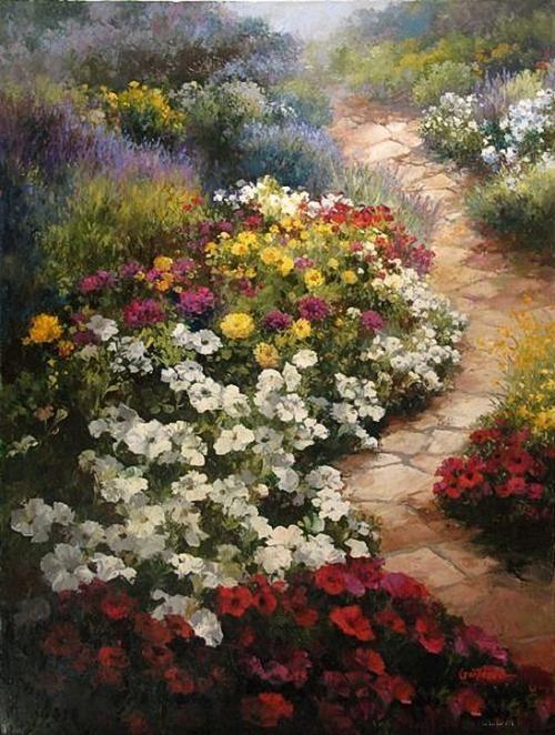 Paul Guy Gantner 1948 | Seoul, South Korea | Landscape painter | Tutt'Art@ | Pittura * Scultura * Poesia * Musica |