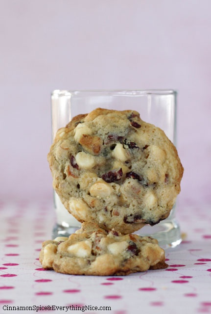 White Chocolate Cranberry Pretzel Cookies (Jumbles) | Recipe | White ...