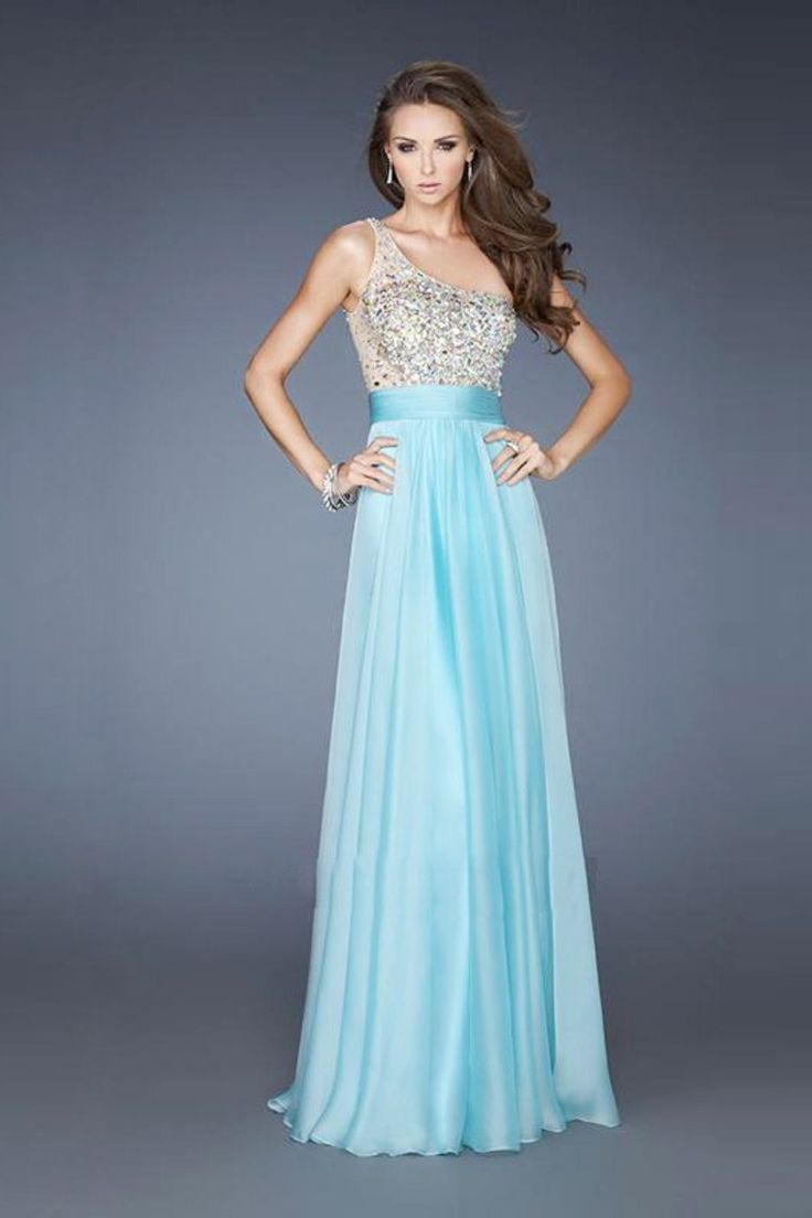86 best Prom images on Pinterest | Chiffon prom dresses, Formal ...