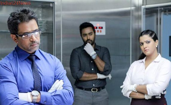 Nibunan movie review: Arjun Sarja's 150th movie doesn't surprise you — for good, or worse