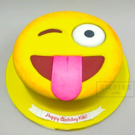 Emoji Birthday Cake From Empire Cake Birthday Cakes