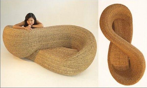 Moebius, Double Indoor Armchair