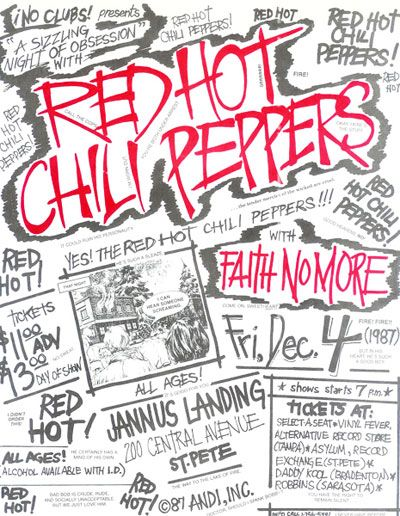 Posters - Red hot chili peppers