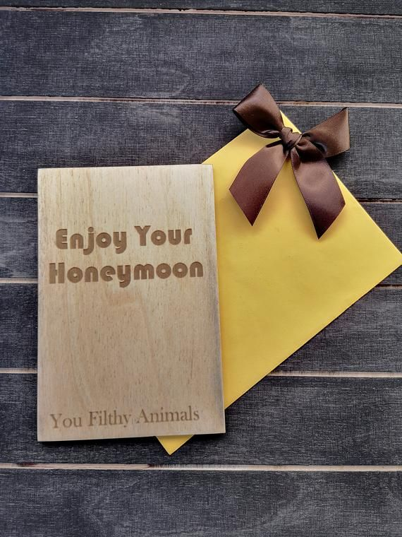 Wedding Gift Card Gift Card Wooden Gift Card Custom Gift Card Funny Wedding Gift Card Honeymoon Gift For Couple Custom Gift Wedding Gift Cards Custom Gift Cards Funny Wedding Gifts