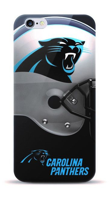 NFL Carolina Panters TPU Licensed Oversized Helmet and Logo Case for iPhone 7 Plus
