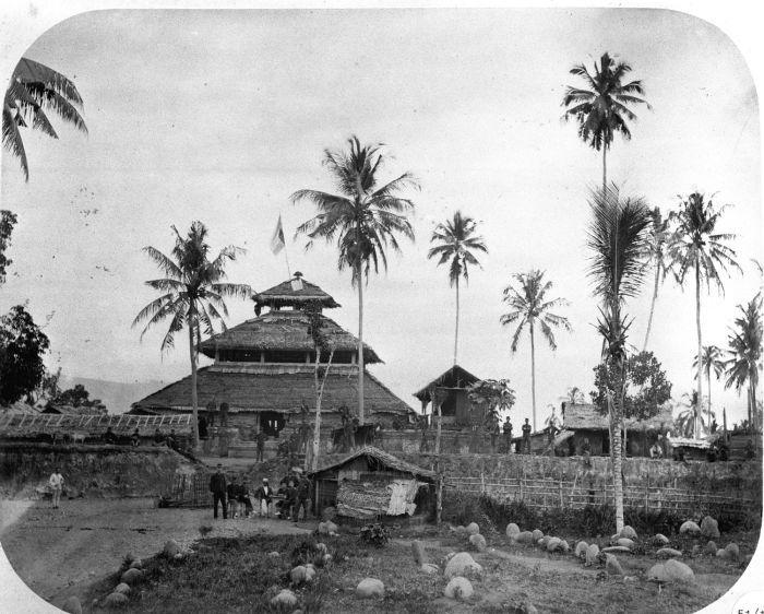 Masjid Indrapuri, tahun 1880