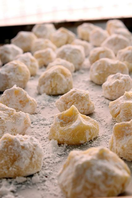 white chocolate saffron truffles by pastryaffair, via Flickr