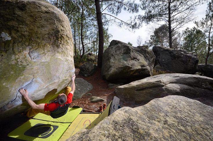 Indestructible - Bouldern in Bleau  #bleau #bouldering #fontainebleau #fsthltn