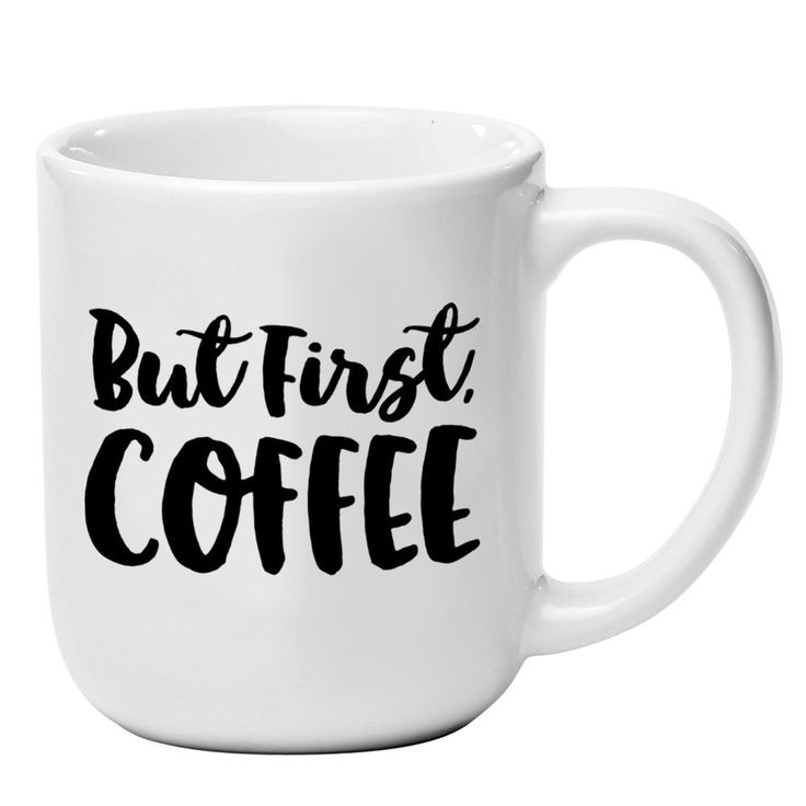 'But First, Coffee' - 16oz Ceramic Coffee Mug - By Palmer Street Press -- Unbelievable product right here! : Coffee Mugs