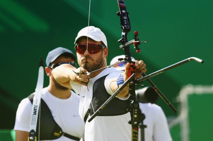 Day 1: Archery Men's Team - Jean-Charles Valladont of Team France