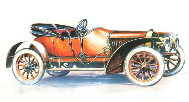 Laurin & Klement Type L Sportovni, 1910-17