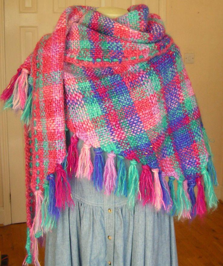 26 besten Weaving on a Triangular loom Bilder auf Pinterest ...