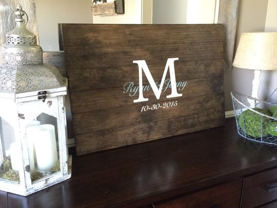 This is the perfect centerpiece for the perfect wedding. Made out of premium pine, this piece is customized for your perfect day. This rustic