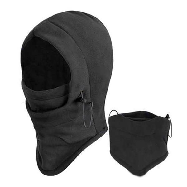 Balaclava Hood Face Mask Thermal Fleece Beanies   #beanie #hat #thermal #mask #head #face #neck