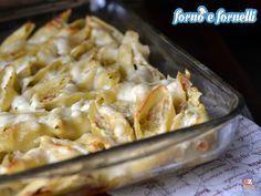 I Conchiglioni ripieni di zucchine sono un delizioso primo piatto da preparare per il pranzo della domenica, sono davvero scenografici e buonissimi.