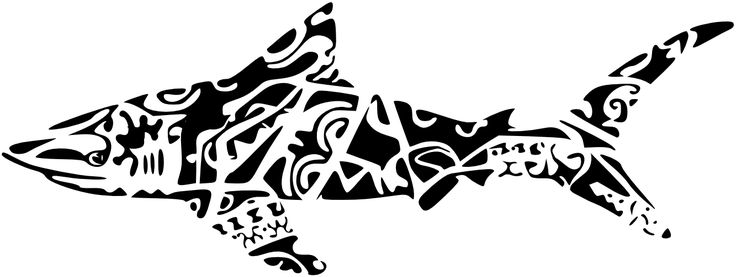 polynesian designs and patterns | Pin Maori Shark Clipart In Hawaiian Tattoo Style Do It Images On