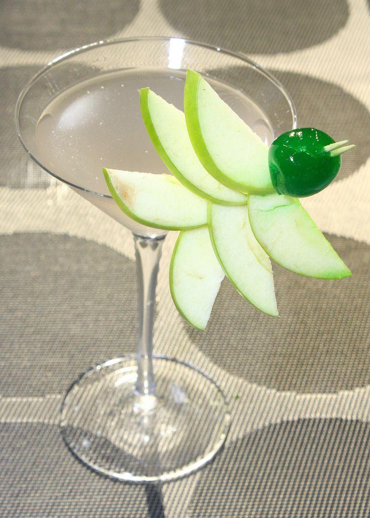 Una forma  diferente de decorar tu Martini.