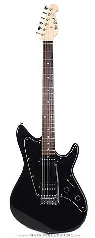 This brand new Grosh ElectraJet Standard is a versatile, sonic masterpiece from Colorado builder Don Grosh. Right off the bat, you can tell this Standard means business with a deep black, ultra-thin high gloss finish, black pickguard, and smooth, fast-playing satin-finished Maple neck with a Standard Roundback shape (.830-.930). The Alder body is extremely resonant, weighing in at a comfortable 7 lb., 7 oz. This is a real player that's all about the sound, though, loaded with two Grosh Blown