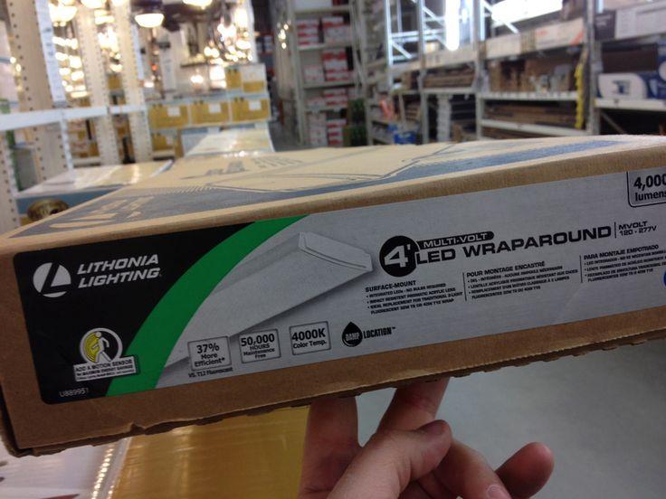 garage light fixture led for hyper habitat