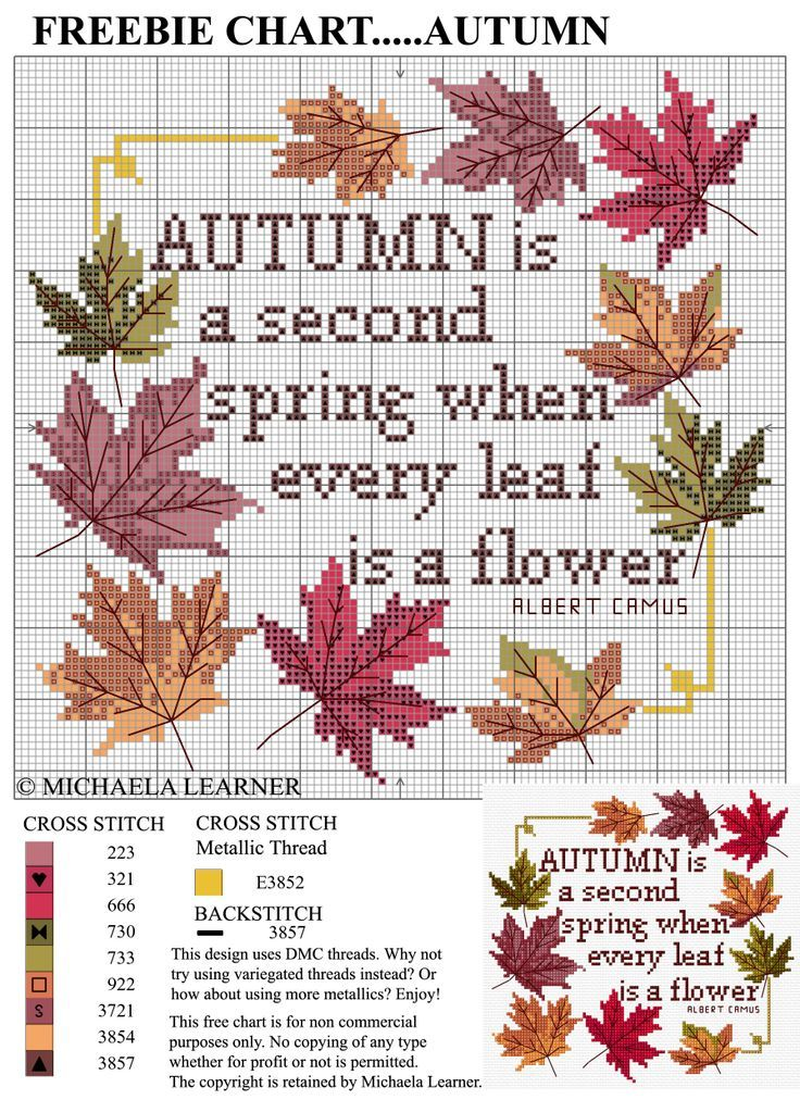 Leaves Autumn [Pattern]