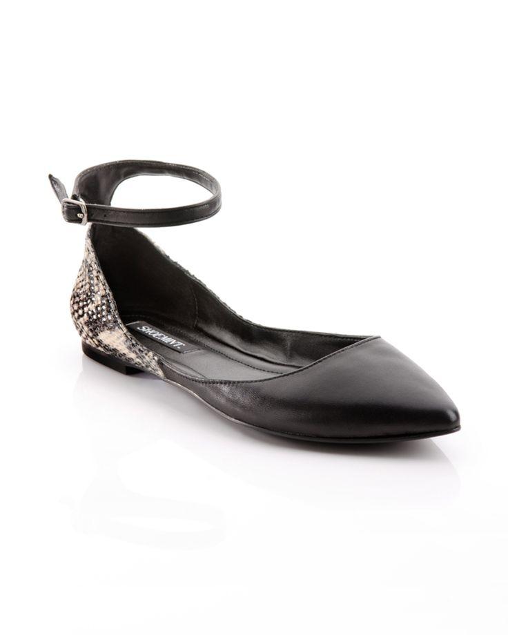 Hattie Pointed Flats (an alternative to heels)