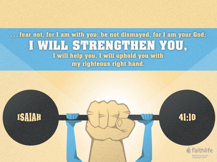 Image result for isaiah 41 10