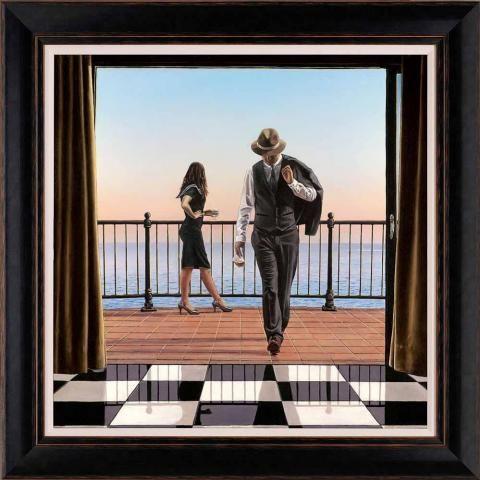 An Affair To Remember, by Richard Blunt #art #seascape #love #romance