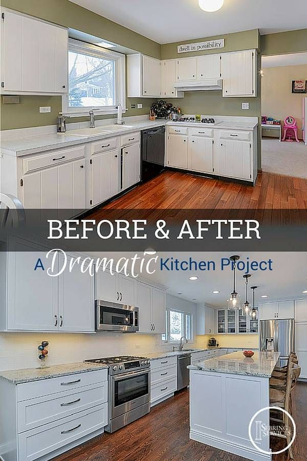 Painting Kitchen Cabinets White Before And After Pictures Stunning Decorating Design