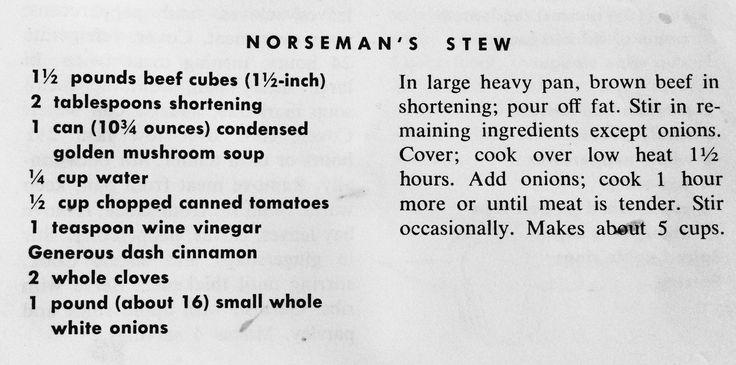 Norseman's Stew