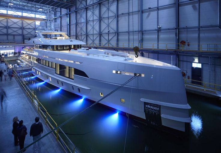 M/Y HOME is the world's first fast displacement yacht by Heesen with a hybrid propulsion. The yacht is also known as Project NOVA and YN 17859.
