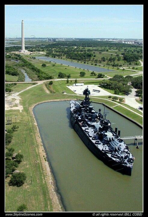 Battleship of Texas and the San Jacinto Monument