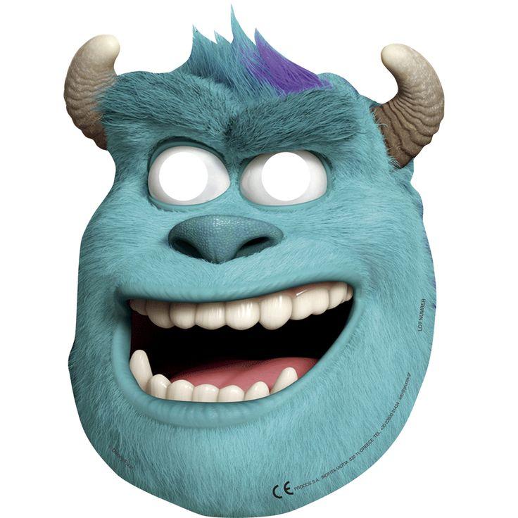 6 masques monstres academy (Sulli) - Annikids