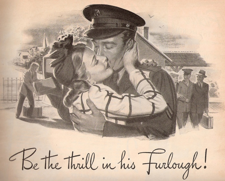 Be the thrill <3  World War II poster