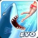 Download Hungry Shark Evolution:  Hungry Shark Evolution V 4.2.0 for Android 4.0+ Take control of a very Hungry Shark in this action packed aquatic adventure.Survive as long as possible by eating everything that gets in your way! Many different sharks to collect and evolve, including the Hammerhead, Great White and Megalodon!...  #Apps #androidgame ##FutureGamesOfLondon  ##Arcade