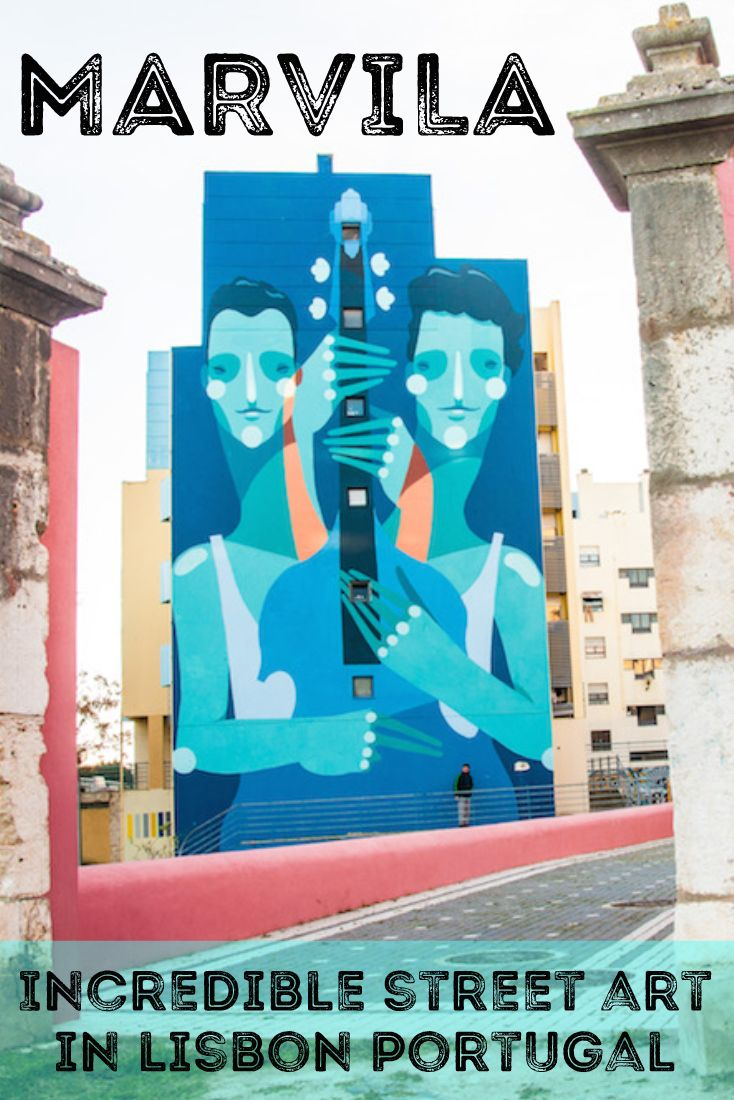 Lisbon is an amazing canvas for street art! <3 #Portugal