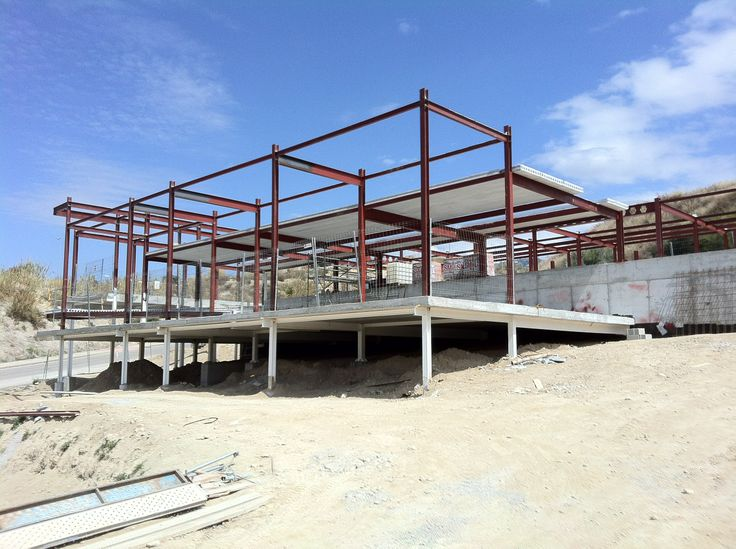 Estructura met lica estructuras met licas en 2019 casas - Estructura metalicas para casas ...